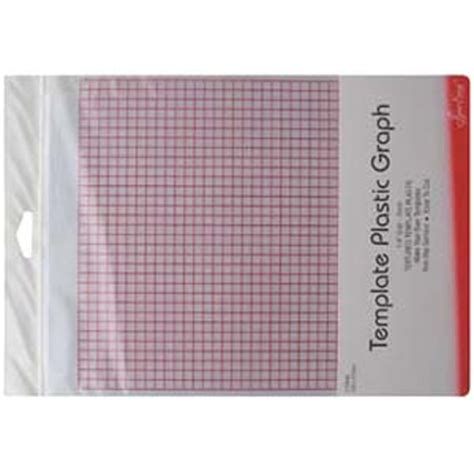 Plastic Template Sheets by Grid Marked Template Plastic For Patchwork Templates And