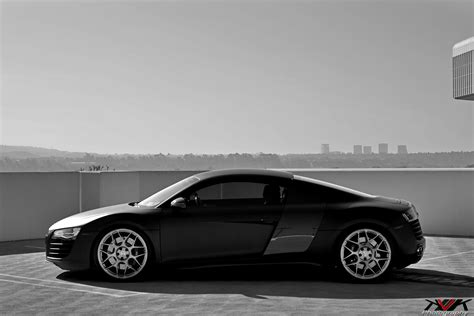 audi r8 matte black matte black audi r8 on hre p40sc s by kvk photography