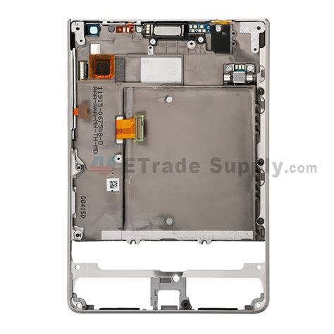 Lcd Blackberry Passport blackberry passport silver edition lcd assembly with frame silver etrade supply