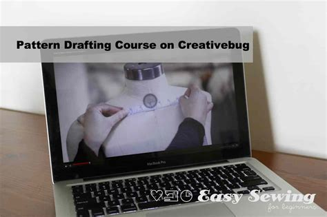 pattern drafting beginners creativebug pattern drafting course update easy sewing