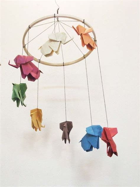 Origami Baby Mobile - 17 best ideas about origami elephant on paper