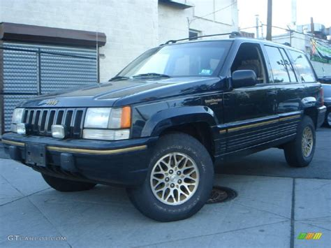 Jeep Grand Limited Colors 1994 Black Jeep Grand Limited 4x4 11810525 Photo