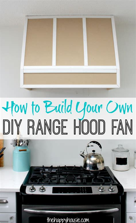 how to build a stove fan how to build a diy range fan for a broan insert
