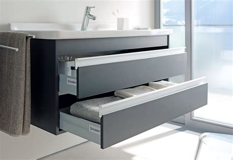 duravit ketho 550mm 2 drawers unit with vero 600mm basin