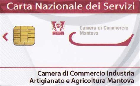 smart card commercio di commercio di mantova firma digitale