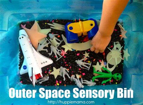 space sensory outer space sensory bin carrie rose