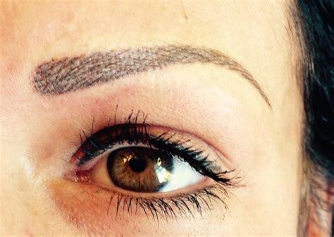 tattoo eyebrows aberdeen news jillian sharp practises cosmetic tattooing in fife