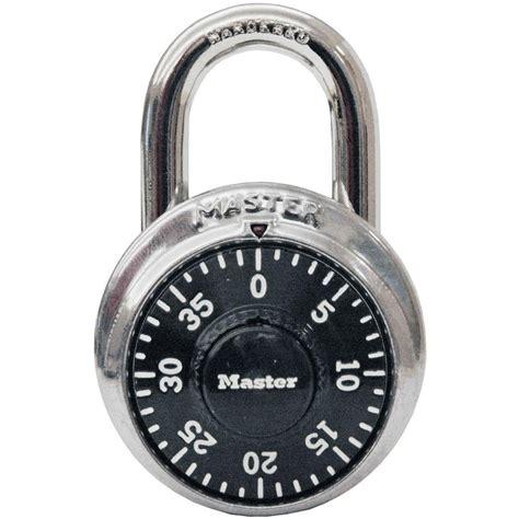 cadenas home depot master lock preset 3 digit dial combination padlock