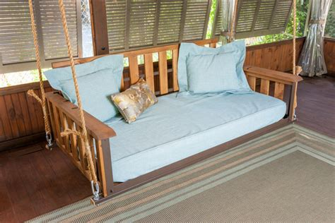 the porch swing company craftsman bed swing the porch companythe porch company