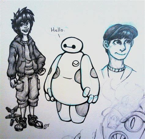 Big 6 Sketches by Big 6 Sketches By Toastylynx On Deviantart
