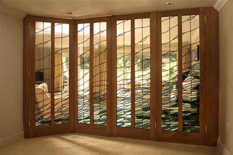 Glass Door For Kitchen Cabinets by Stained Glass Domestic Work At Glassworks Studio