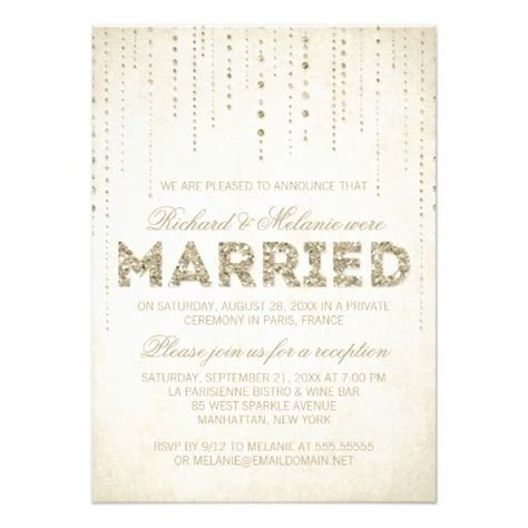 reception invitation wording after a private wedding wedding reception only invitation wording theruntime com