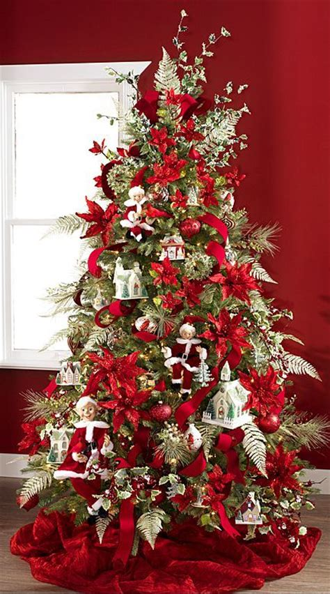 17 best images about christmas trees red and silver