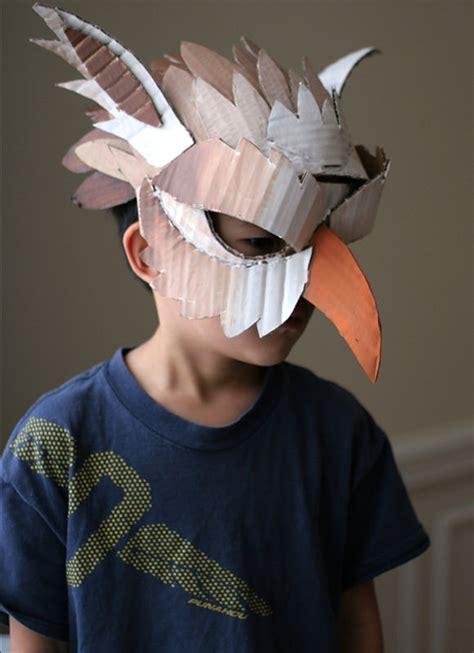 diy cooling mask 10 diy cardboard paper masks for handmade