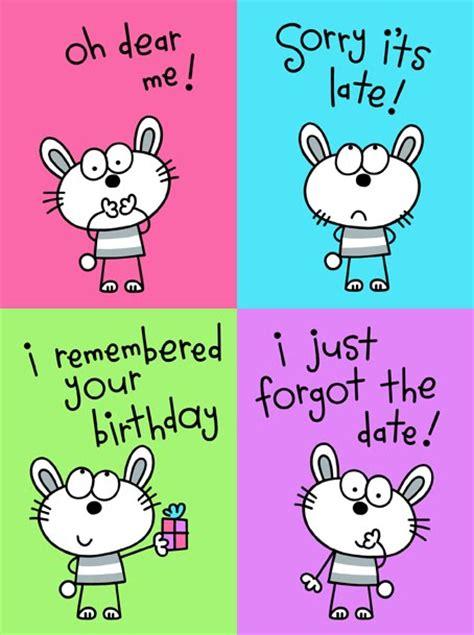 Happy Late Birthday Quotes Happy Belated Birthday