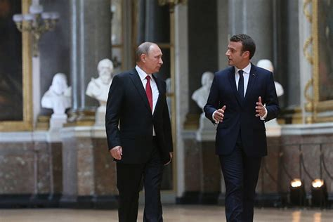 emmanuel macron russia french president emmanuel macron just went after russia