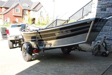 drift boat washington used 89 willie drift boat 17x54 the outdoor gear classifieds