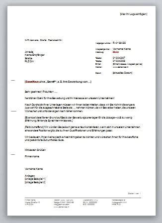 Brief Absagen Bewerbung absage bewerbung punkten sie beim absageschreiben