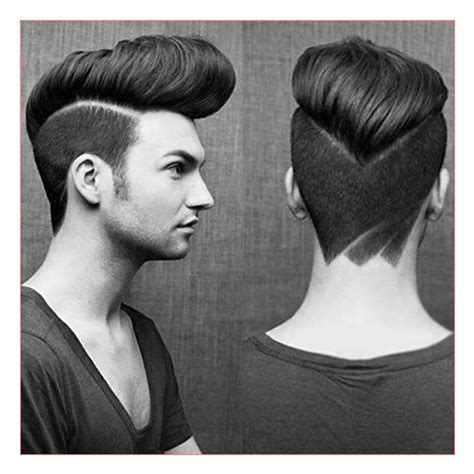 haircut designs names men haircut styles names together with classic pompadour 5