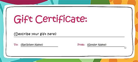 25 best ideas about gift certificate templates on