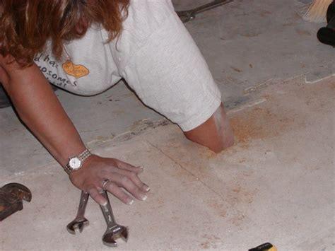 Laminate Flooring Over Linoleum And Particle Board