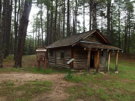 The Generals Cabin by Cabin Loop Up The Mogollon Jacob Emerick S
