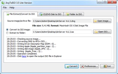 format file osx dmgtoiso com convert dmg files to iso extract dmg files