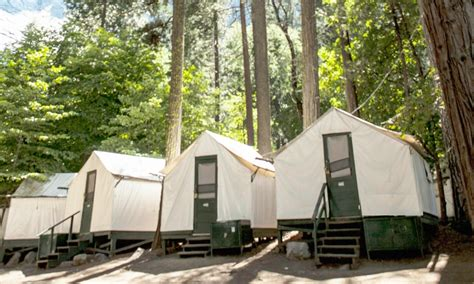 Yosemite Cing Cabins Curry by Curry Cabins And Cabin Tents National Park