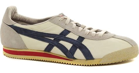 Tiger Corsair Shoes Onitsuka Tiger lyst onitsuka tiger corsair vintage plimsolls in white
