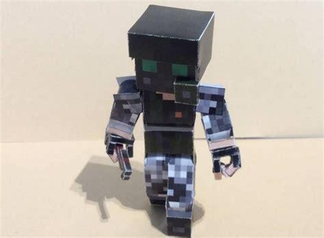 Half Papercraft - half minecraft style adrian shephard free
