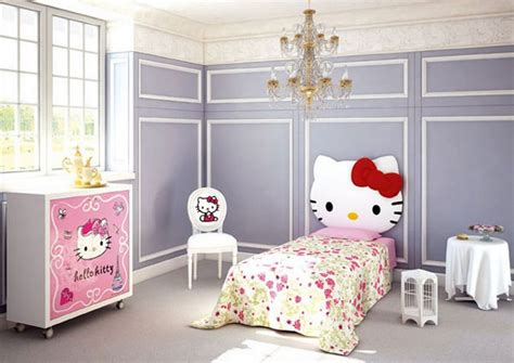 cute bedroom furniture hello kitty bedroom idea for your cute little girl