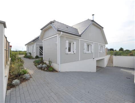 maison de en bois maison bois plein pied avec bardage canexel nos maisons