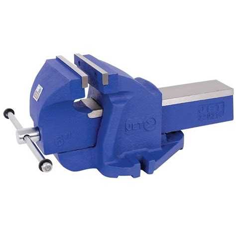 milwaukee bench vise jet 320314 6 quot sg iron bench vise bc fasteners tools