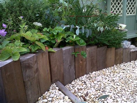 garden bed edging eleven interesting garden bed edging ideas the owner