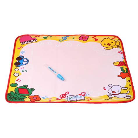 Doodle Mat With Pen by Water Drawing Painting Writing Mat Board Magic Pen Doodle