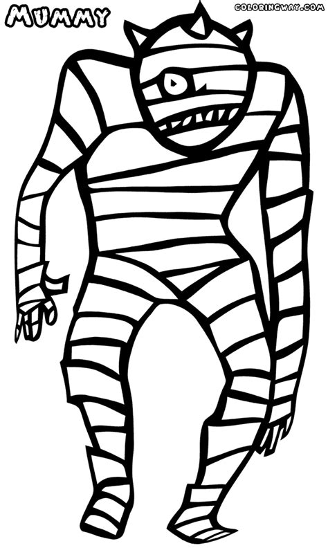 mummy coloring pages mummy coloring pages coloring pages to and print