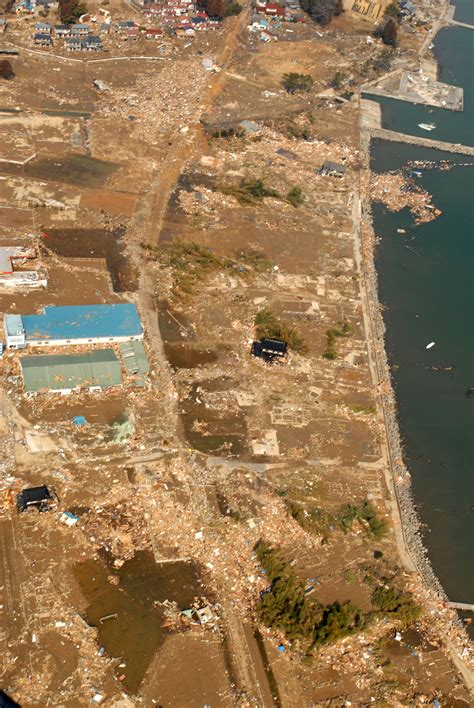 imagenes de sendai japon file an aerial view of tsunami damage in an area north of