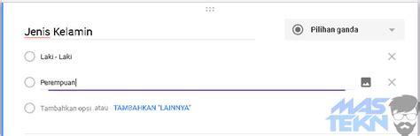 membuat formulir dengan google form cara mudah membuat formulir online dengan google form