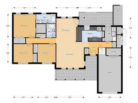 floor plan organizer floorplanner modern house