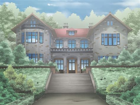 house anime building