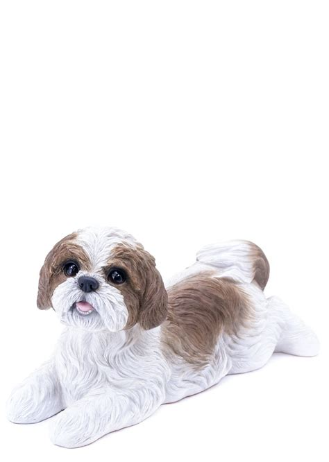 how to a shih tzu to lay buy shih tzu garden statue laying for sale in