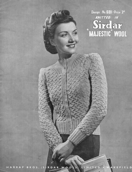 vintage knitting pattern lady the vintage lady knitting patterns crochet and knit