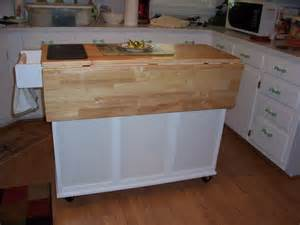 Small Mobile Kitchen Islands Mobile Islands For Kitchens Drive Me Batty Home Sweet Garage Kitchen Ideas Small Portable