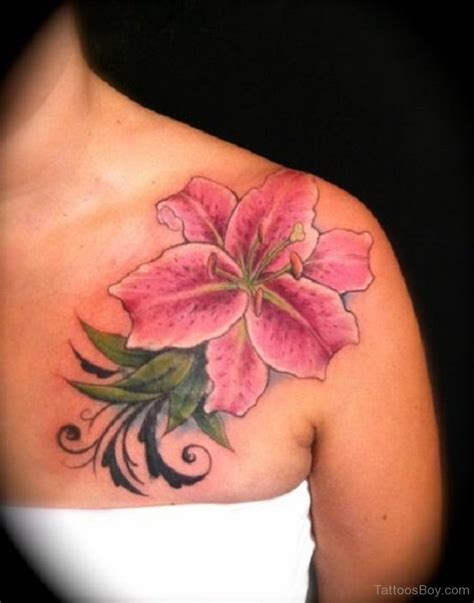 japanese lily tattoo designs tattoos designs pictures