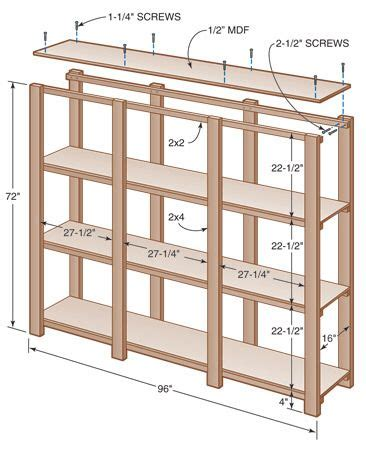 plans  build  plywood shelf plans  plans