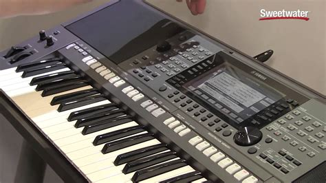 Keyboard Yamaha Psr S770 Baru summer namm 2015 yamaha psr s770 arranger keyboard demo by sweetwater