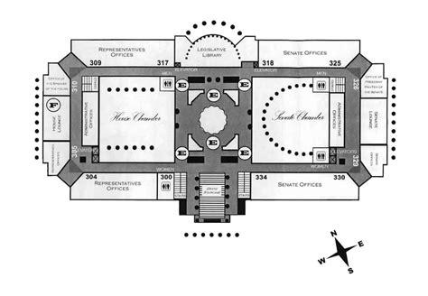 wh floor plan missouri state capitol floors