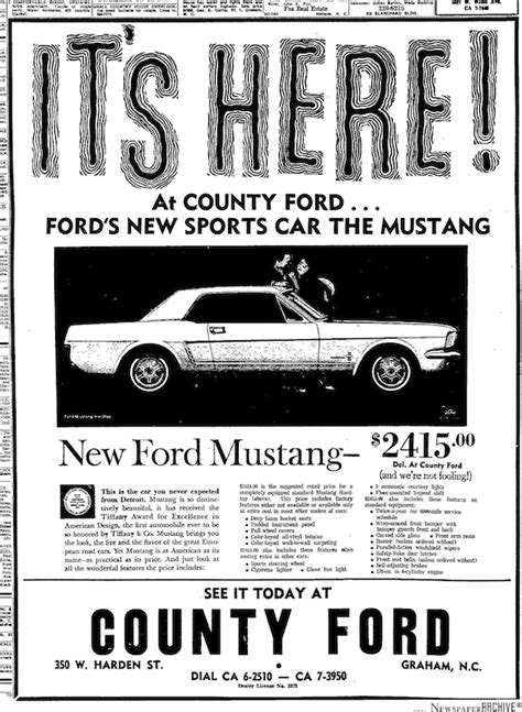 fort times classified ads 1964 mustang newspaper history