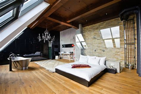 loft bedrooms ideas  contemporary interior design