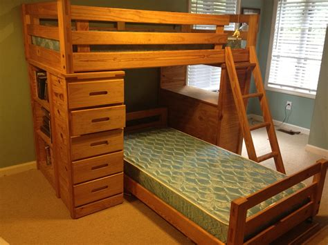 Oak Bunk Beds With Desk Wooden Bunk Beds With Desk To Invest Your Space All Furniture